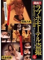 「ラブホモーテル盗撮 あえぎ泣く全記録 6」のパッケージ画像
