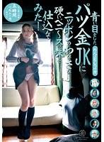 「青い目をしたパツ金JKにニッポンのわびさび硬いペニ~スの味を仕込んでみた!」のパッケージ画像