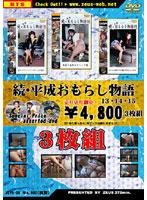 「続・平成おもらし物語 13・14・15 3枚組」のパッケージ画像