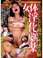 「女体淫化劇薬 vol.1 エリート美女・被虐の性感実験 桜瀬奈」のパッケージ画像