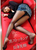 「黒ストッキング×長身美脚」のパッケージ画像
