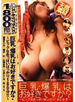 「巨乳・爆乳はお好きですか? 〜ビックなおっぱいばっかり180分!!〜」のパッケージ画像