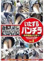 「いたずらパンチラ ~女子校生のパンティー~ Vol.2」のパッケージ画像