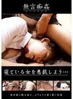 「無言痴姦 寝ている女を悪戯しよう…」のパッケージ画像