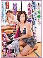 「夫と喧嘩して息子のアパートにきた小田原の母 筒美かえで」のパッケージ画像