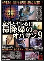 「意外とヤレる!!掃除婦のオバサン 9」のパッケージ画像