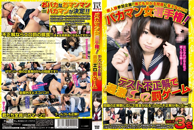 [WAN 220] Punishment Game For Dumb Girls (326MB MKV x264)