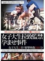 「犯罪録 女子大生拉致監禁孕ませ事件 File.01」のパッケージ画像