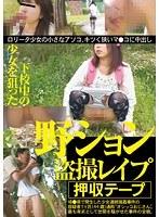「下校中の少女を狙った野ション盗撮レ○プ」のパッケージ画像