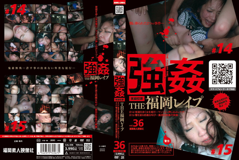 [CAL 036] The Fukuoka Rape #14 & #15 (369MB FLV  x264)