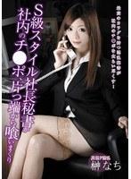「S級スタイル社長秘書が社内のチ●ポ、片っ端から喰いまくり 榊なち」のパッケージ画像