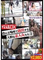 「投稿DX 色んな場所で露出する大胆な素人女たち 2」のパッケージ画像