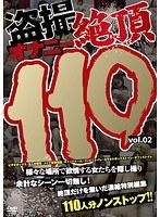 「盗撮オナニー絶頂110 vol.02」のパッケージ画像