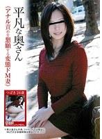 「平凡な奥さん(アナル責めを懇願する変態ドM妻)」のパッケージ画像