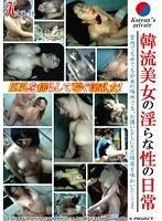 「韓流美女の淫らな性の日常」のパッケージ画像