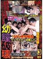 「幼膣破壊 3 家出少女ボコボコ輪姦 良いトコ育ちのバスケ部少女編 さき中3(nakasan)」のパッケージ画像