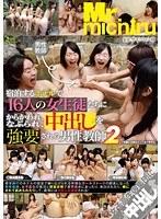 「宿泊するホテルで16人の女生徒たちにからかわれ、なぶられ、中出しを強要される男性教師2」のパッケージ画像