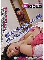「偶然、息子に淫らな姿を見られてしまった母親は近親セックスを迫られても拒めない」のパッケージ画像