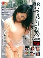 「熟女おもらし痴態6連発 13」のパッケージ画像