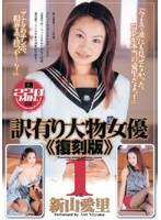 「訳有り大物女優《復刻版》vol.1 新山愛里」のパッケージ画像