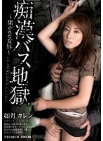 「痴漢バス地獄 〜開かれた女唇〜 如月カレン」のパッケージ画像