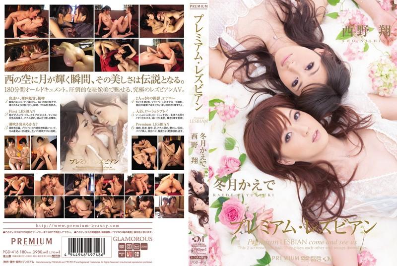 pgd416pl PGD 416 Kaede Fuyutsuki, Shou Nishino   Premium Lesbian