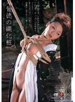 「背徳の縄化粧 山口玲子」のパッケージ画像