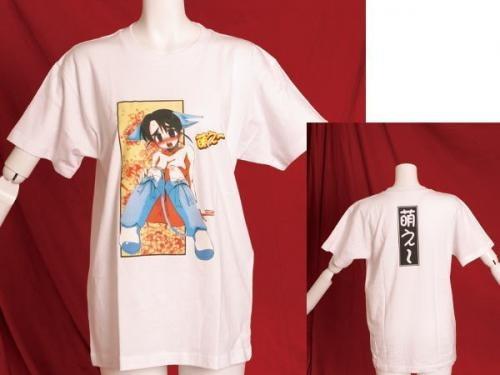 萌え画Tシャツホワイト2