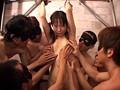 変態 パイパンマ○コに群がる30本の手!ロリコン男15人に犯される少女 サンプル画像 No.1