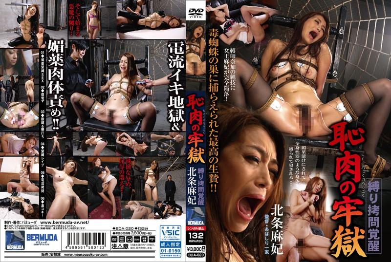 縛り拷問覚醒 恥肉の牢獄 北条麻妃 bda-020 北条麻妃