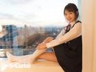 三田杏 S-Cute撮影で着用!ブラ&パンティの下着上下セット・制服風衣装付!