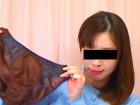 「未央」の光沢茶色パンティ!