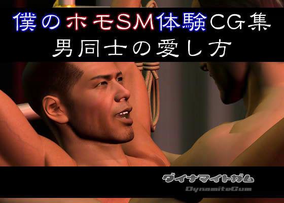 僕のホモSM体験CG集 男同士の愛し方 d_013466のパッケージ画像