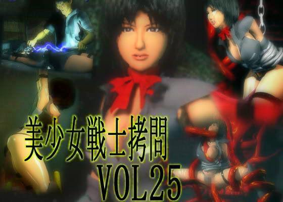 美少女戦士拷問 VOL25 絶頂地獄