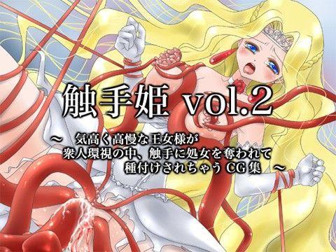 触手姫vol.2 〜気高く高慢な王女様が触手に処女膜を破られて...