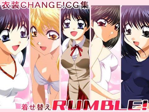 【スクールランブル 同人】衣装CANGE!CG集着せ替えRUMBLE!