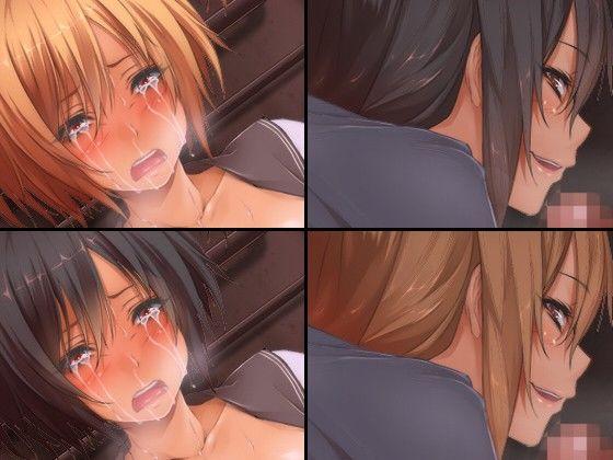 女子校生×路地裏 理性のとんだ女子校生は性欲がとまらないのサンプル画像3