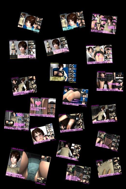 【Libido-Labo 同人】【DMM独占販売】2017年版!最高にエロ可愛い激ミニちゃんのスカートの中を2年間も盗撮し続け撮りためたパンチラ動画全部入り最強パック!
