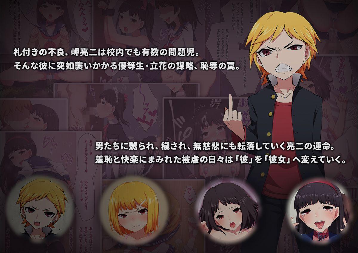 不良少年の躾け方 〜変態女装マゾへのメス堕ち調教録〜のサンプル画像2