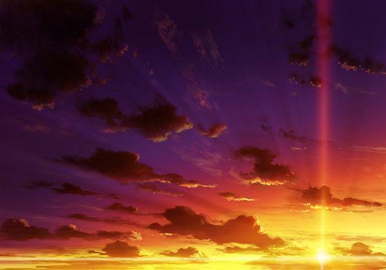 【無料】【加筆、商用可】夕景背景