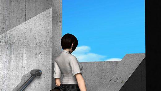 人通りの無い校舎の裏で新人体育教師と不純異性交遊に及んでいる激ミニちゃんに遭遇!スカート内に頭を...のサンプル画像3