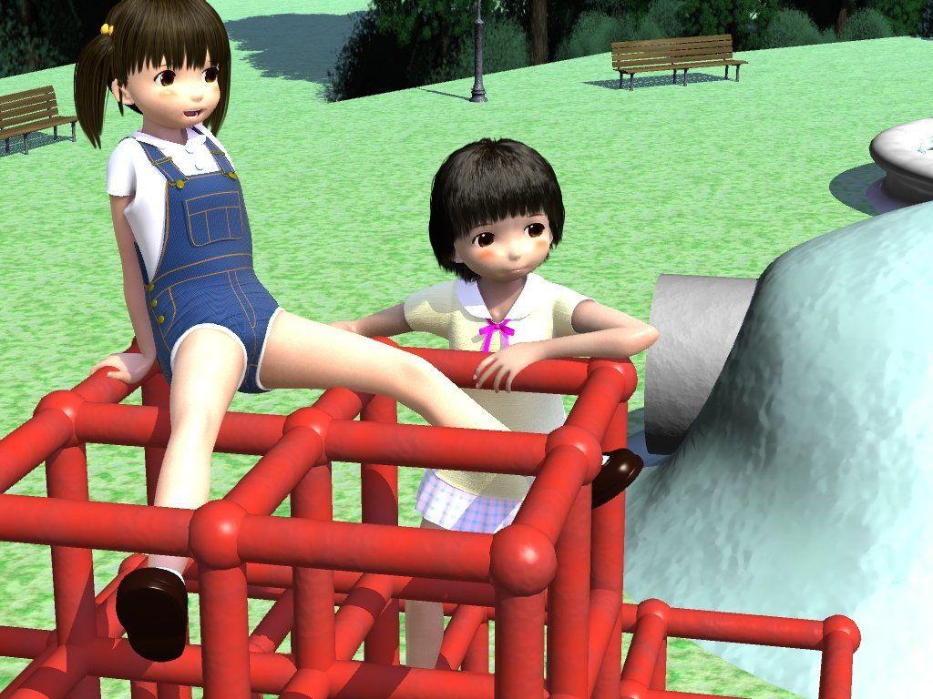 【ByunByunHouse 同人】露出公園男の娘をいっぱい射精させちゃった
