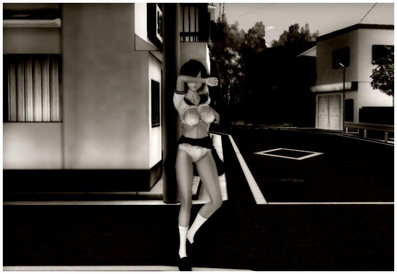 【いちごマリ凛 同人】ヤバい写真~強制的に露出させられる少女