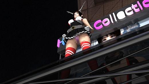 ゲームショウの1セッションで「編隊これくしょん」の陸奥(りくおく)のコスプレ女子として登場した激ミ...のサンプル画像1