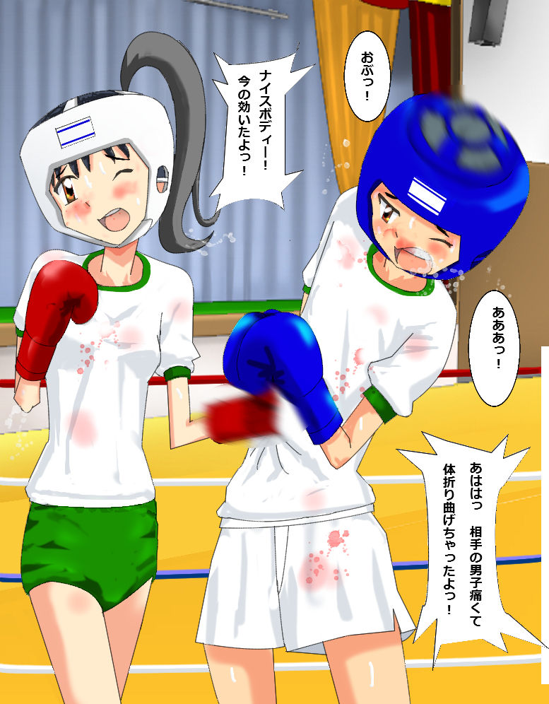 ミックスボクシングCG集2
