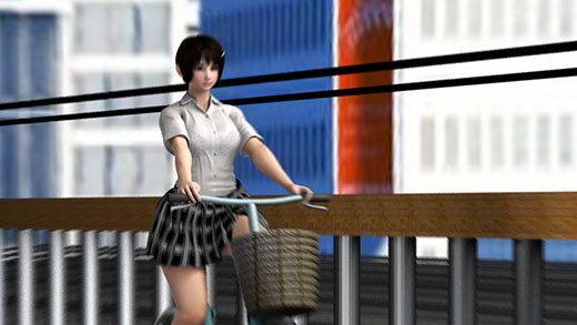 最寄り駅まで自転車で通学している激ミニちゃん。彼女の自転車のサドル部分に小型の隠しカメラを仕込み...のサンプル画像3