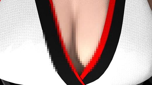 ハロウィンの待ち合わせ場所に出向く途中と思しきおっぱいの谷間全開&超ミニスカートのエロエロコスチ...のサンプル画像2