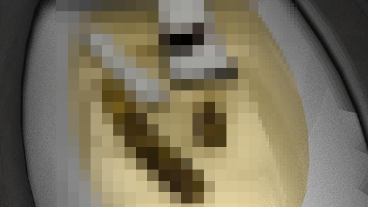 現役アイドル激ミニちゃんの脱糞・放尿シーンを盗撮!水が流れないように細工を仕掛けられた洋式トイレ...のサンプル画像2