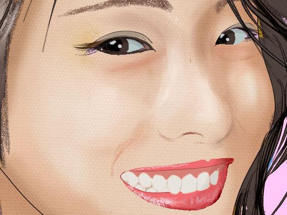 【無料】とある女優のイラスト