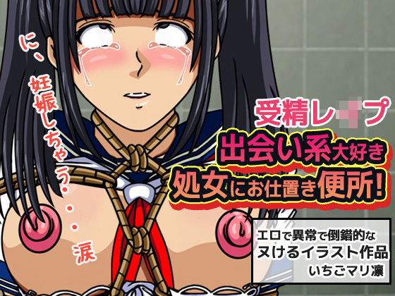 受精レイプ~出会い系大好き処女にお仕置き便所!